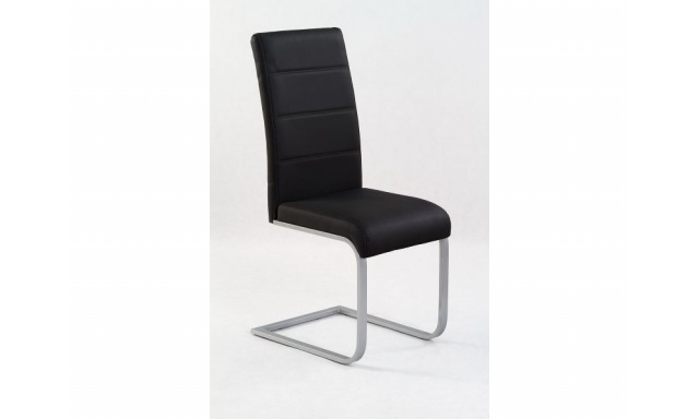 Moderní jídelní židle H557, černá
