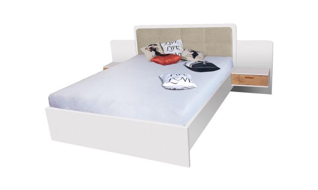 Manželská posteľ Efka 160x200cm, borovica andersen
