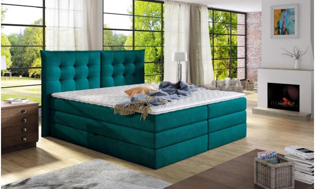 Luxusná box spring posteľ Field 160x200