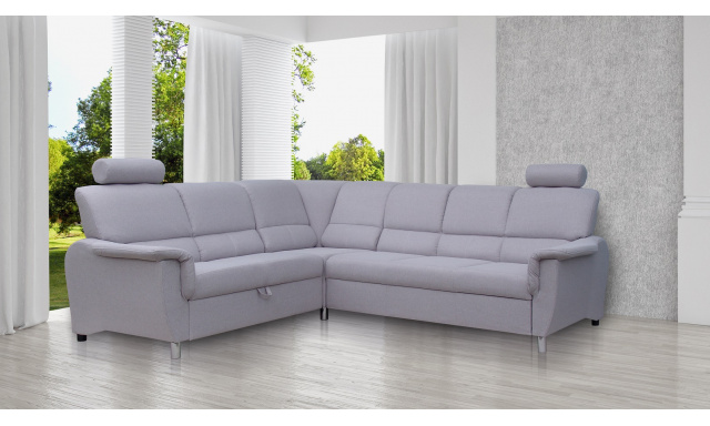 Moderná sedacia súprava Gregor, sivá