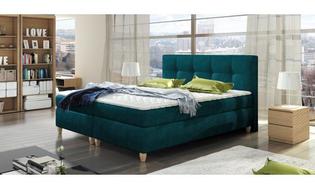 Luxusná box spring posteľ Melanie 160x200