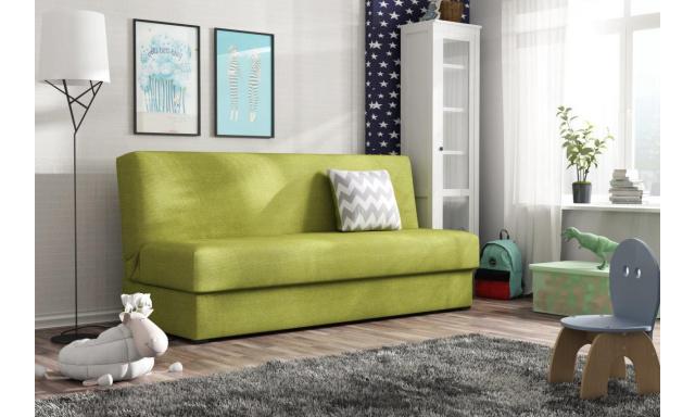 Rozkladacia pohovka Arco, zelená