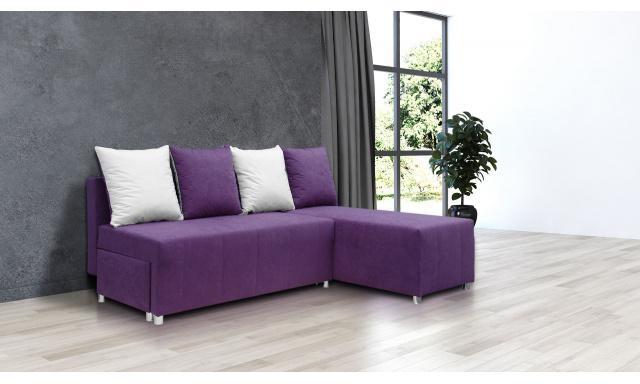 Najlacnejšie sedacia súprava Filip 1, fialová