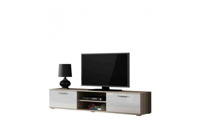 Moderný televízny stolík Zita 180, sonoma
