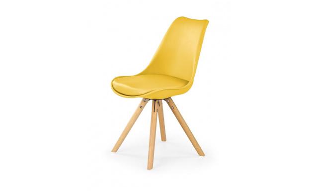 Jedálenská stolička H201, žltá