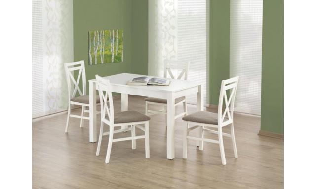 Moderný jedálenský stôl H387, biely
