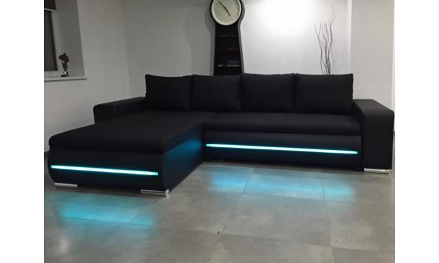 Sedacia súprava Lux s LED osvetlením - HIT 2019