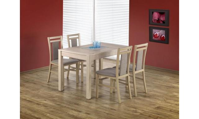 Rozkladací jedálenský stôl H386, sonoma