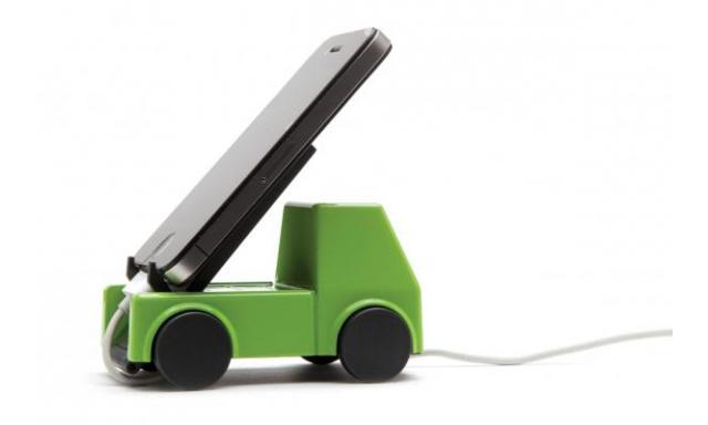 Stojanček na mobil MONKEY BUSINESS Lori Load, zelený