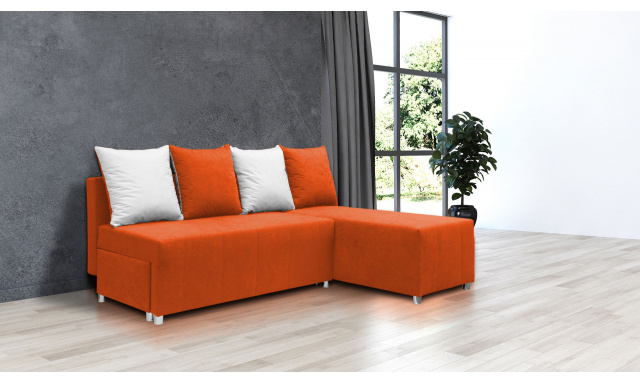 Najlacnejšie sedacia súprava Filip 1, oranžová
